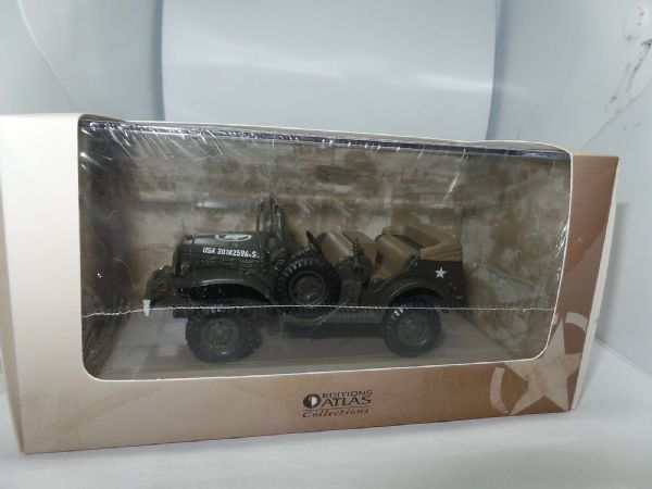Atlas KP28 1/43 Scale US American Army Dodge Command Car  Tank